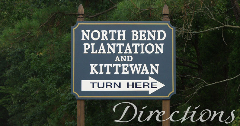 North Bend - Bed & Breakfast - Directions