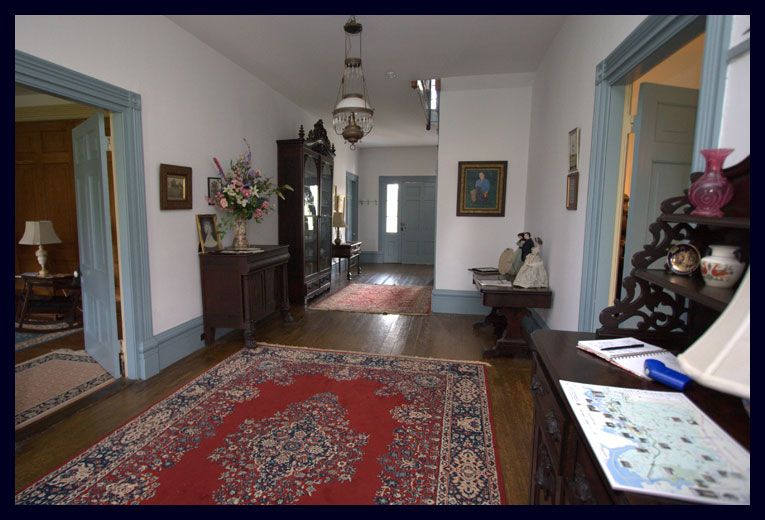 The Main Hallway at North Bend Plantation
