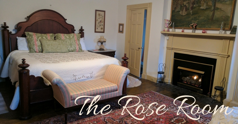 North Bend - Bed & Breakfast - The Rose Room